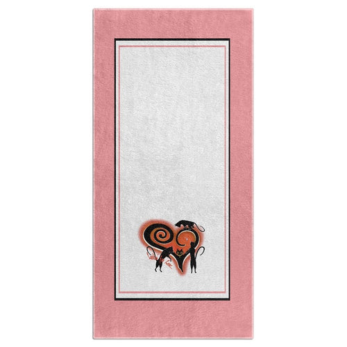 Lookin' For Love with Border Beach Towel (HD)