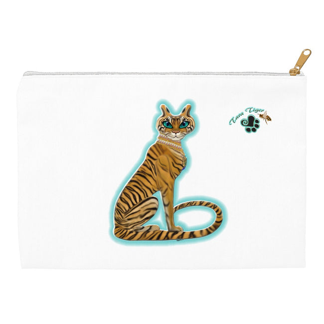 Tara's Tiger Sitting Accessory Pouch