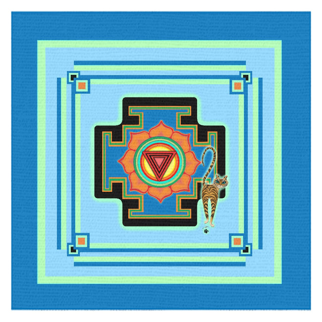 Tara's Yantra Tablecloth