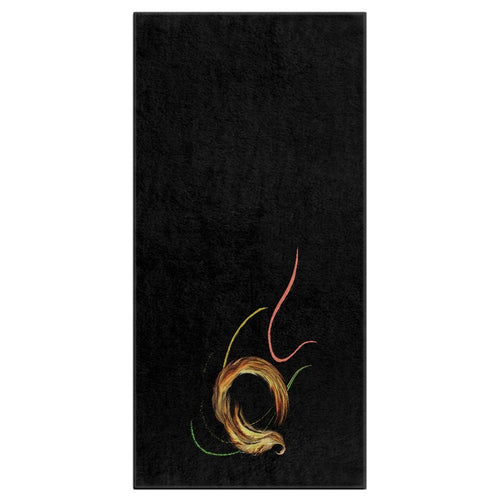 Spiral Dancer Bath Towel (HD)