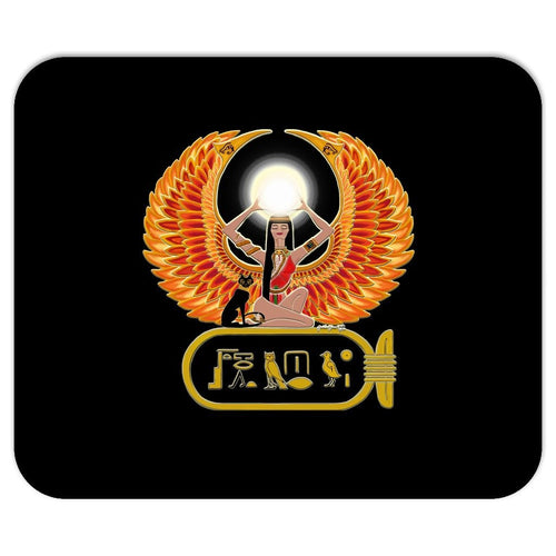 Isis/Auset with Cartouche Mouse Pad