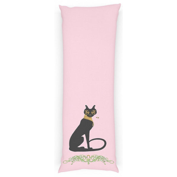 Bast with Jasmine Border Body Pillow Case