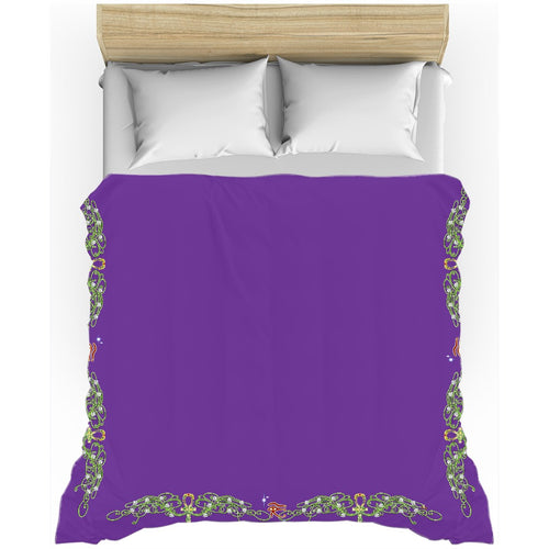 Double Jasmine Border Duvet Cover