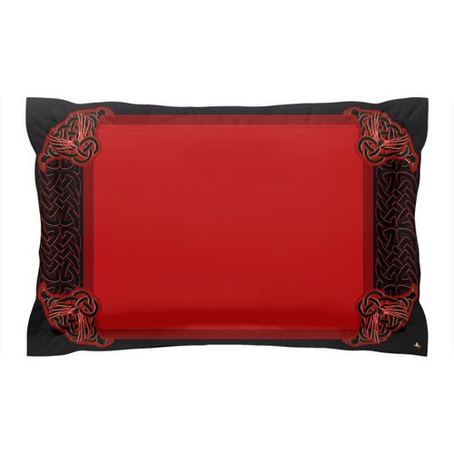 Celtic Knotwork Frame Pillow Sham