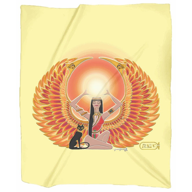 Isis/Auset Jersey Blanket (P)