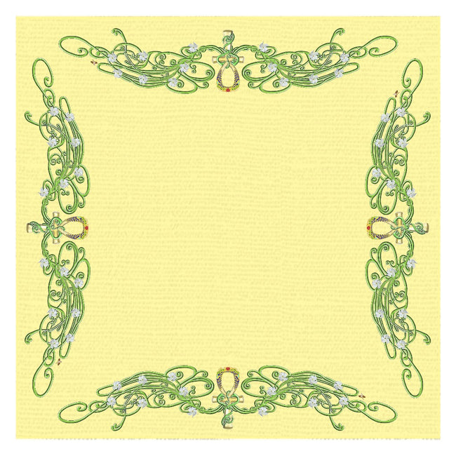 Jasmine Border Tablecloth