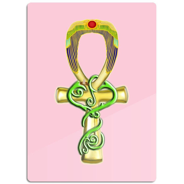 Ankh Glass Cutting Board