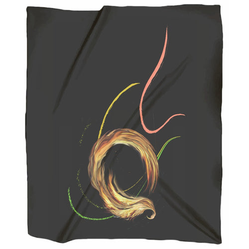 Spiral Dancer Jersey Blanket (F)