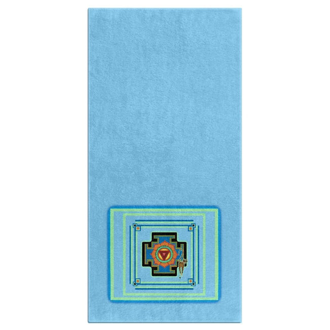 Tara's Yantra Bath Towel (HD)