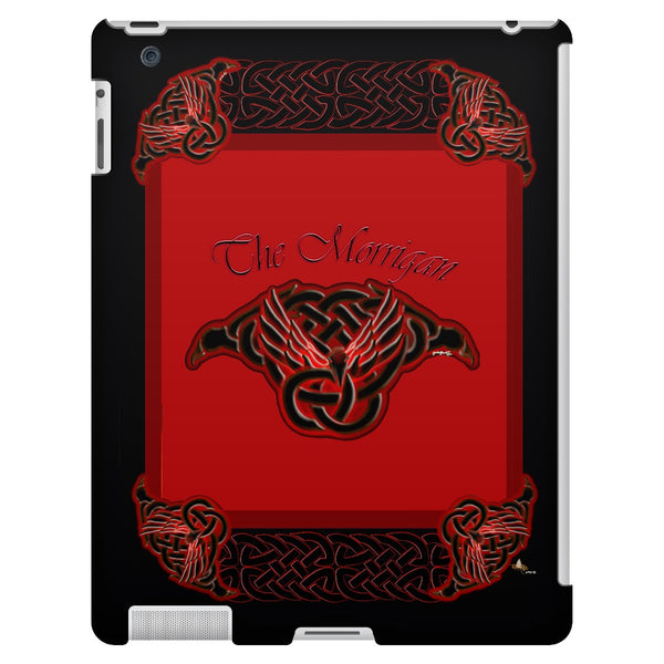 The Morrigan Raven-Knot with Knotwork Frame iPad 3/4 Tablet Case