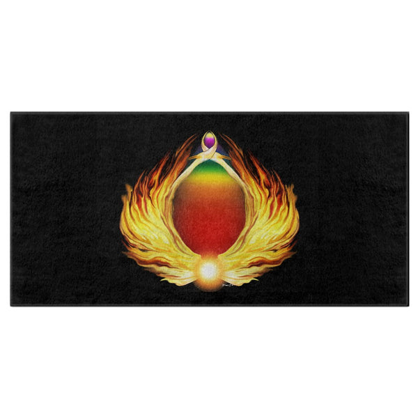 Phoenix Gate Bath Towel
