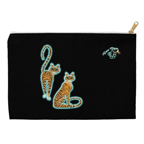 Tara's Tiger Twins Accessory Pouch