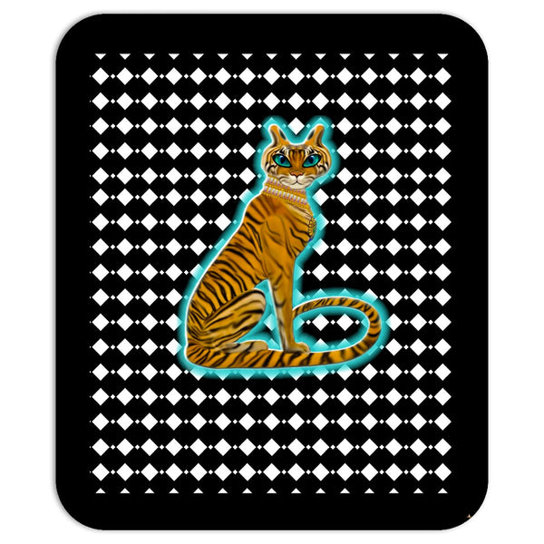 Tara's Tiger Sitting Mouse Pad
