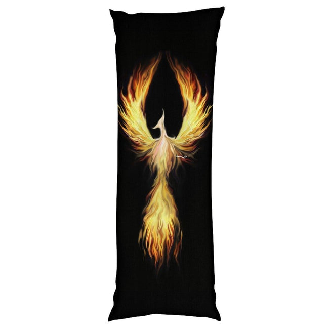 Phoenix Fyr Body Pillow Case