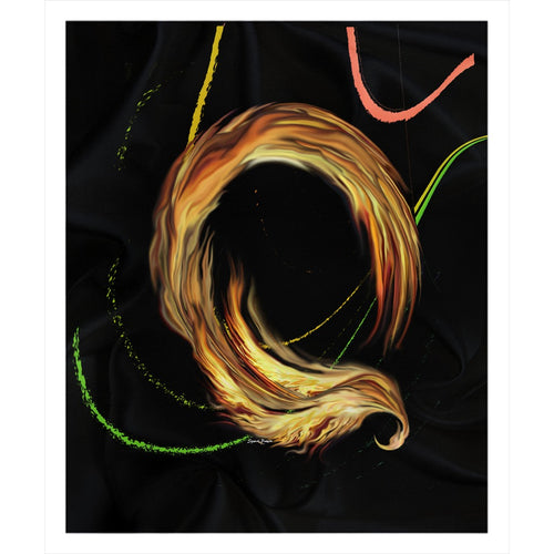 Spiral Dancer Sherpa Blanket