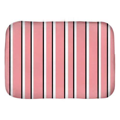 Love Stripes Bath Mat
