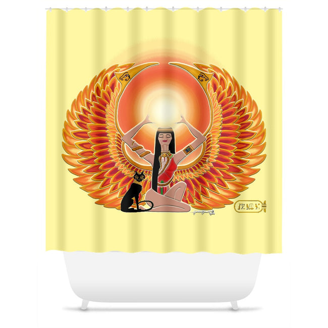 Isis/Auset Shower Curtain
