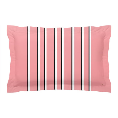 Love Stripes Pillow Sham