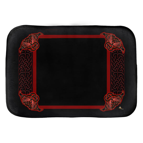 Celtic Knotwork Frame Bath Mat