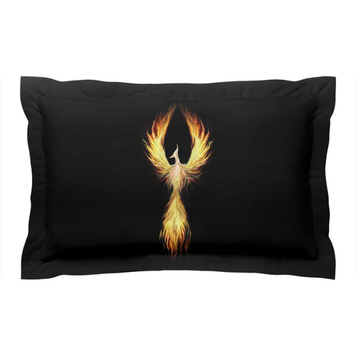 Phoenix Fyr Pillow Shams