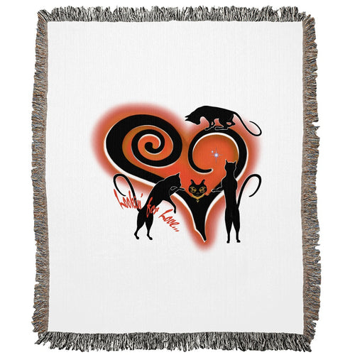 Lookin' For Love Woven Blanket