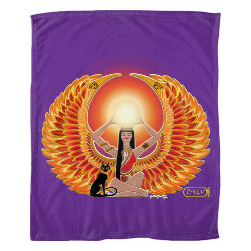 Isis/Auset Fleece Blanket (P)