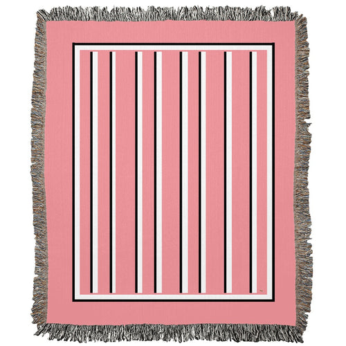 Love Stripes Woven Blanket