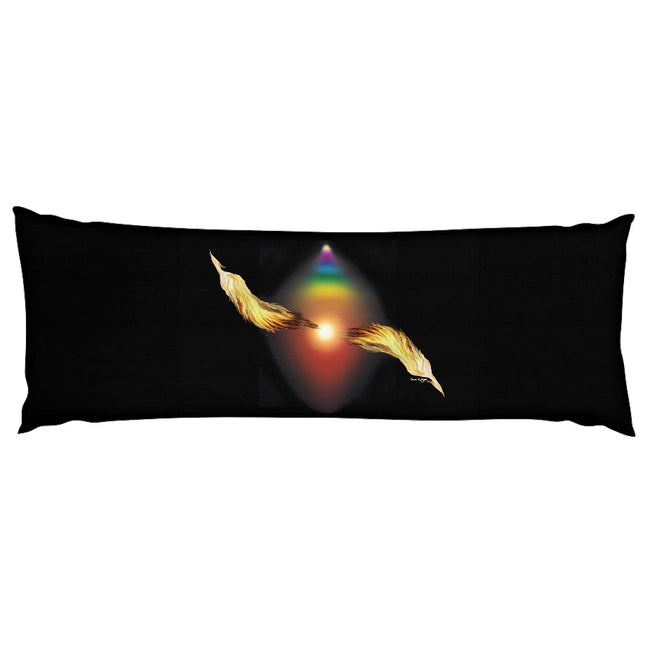 Dance of Light Body Pillow Case