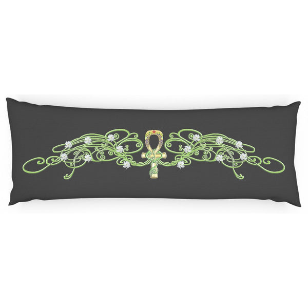 Jasmine Border Body Pillow Case (C)