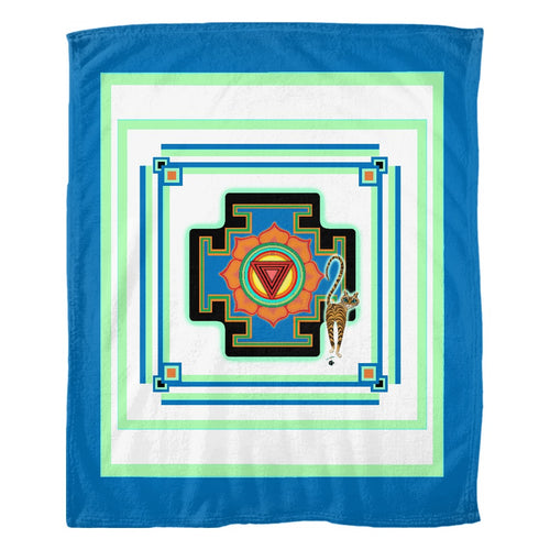 Tara's Yantra Fleece Blanket