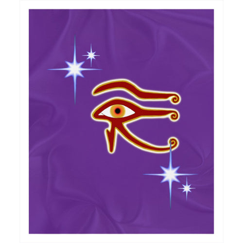 Eye of Isis/Auset Sherpa Blanket (P)