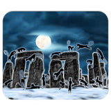Bast Moon Over Stonehenge Mouse Pad