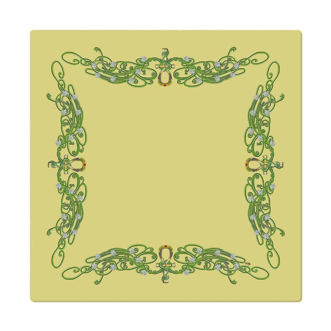 Jasmine Border Cloth Napkin