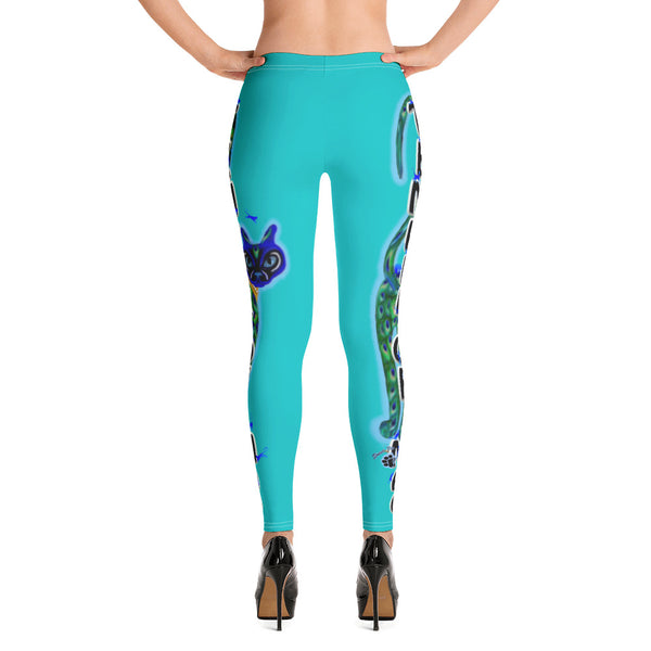 Sweet Pea Temple of Mao Leggings