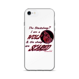I am a Wolf with Red Shadow iPhone 7 & 7 Plus Cases