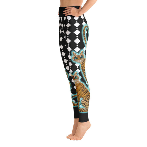 Tara's Tiger Yoga Leggings