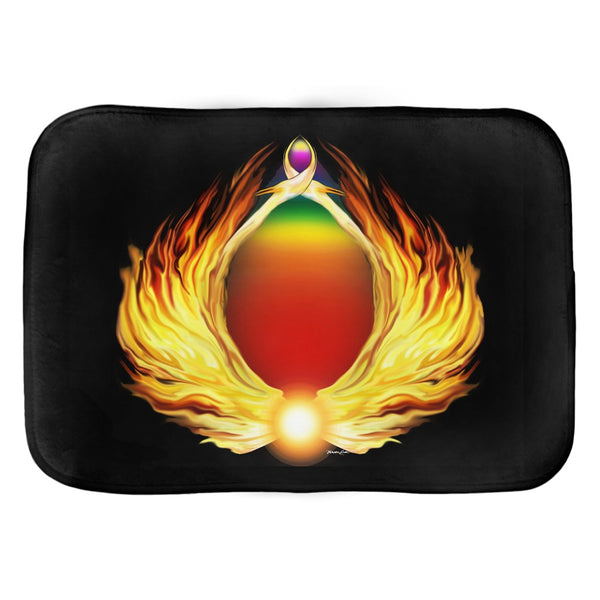 Phoenix Gate Bath Mat