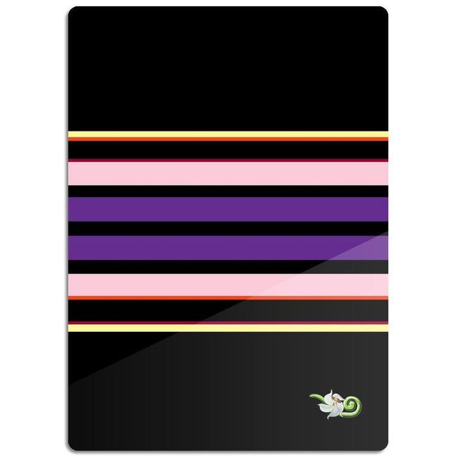 Egyptian Stripe & Bee Glass Cutting Board