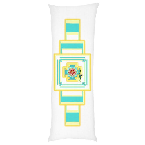 Saraswati's Yantra Body Pillow Case