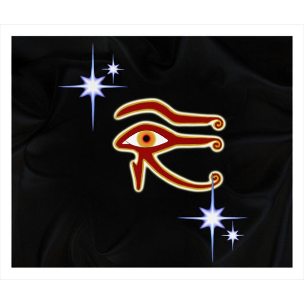 Eye of Isis/Auset Sherpa Blanket (L)