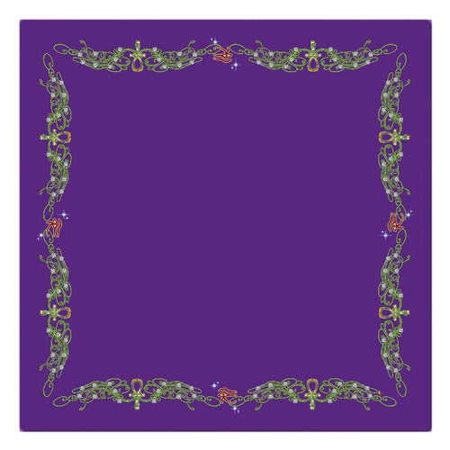 Double Jasmine Border Cloth Napkin