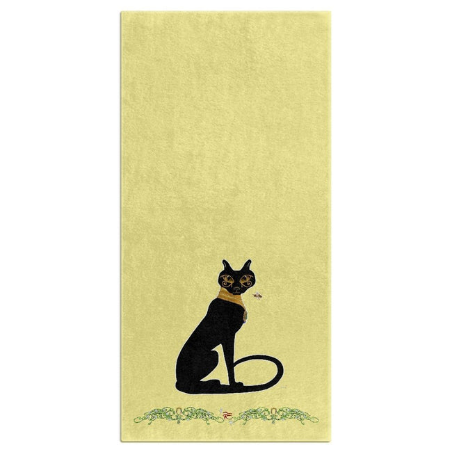 Bast with Double Jasmine Border Bath Towel (HD)
