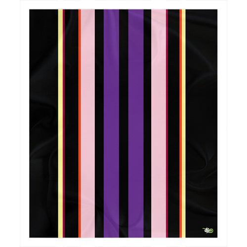 Egyptian Stripe Sherpa Blanket (P)