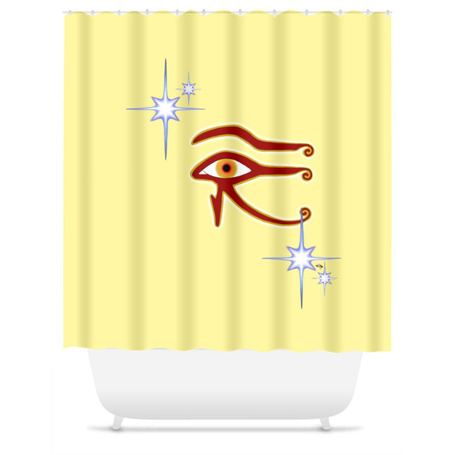 Eye of Isis/Auset Shower Curtain