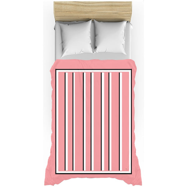 Love Stripes Duvet Cover