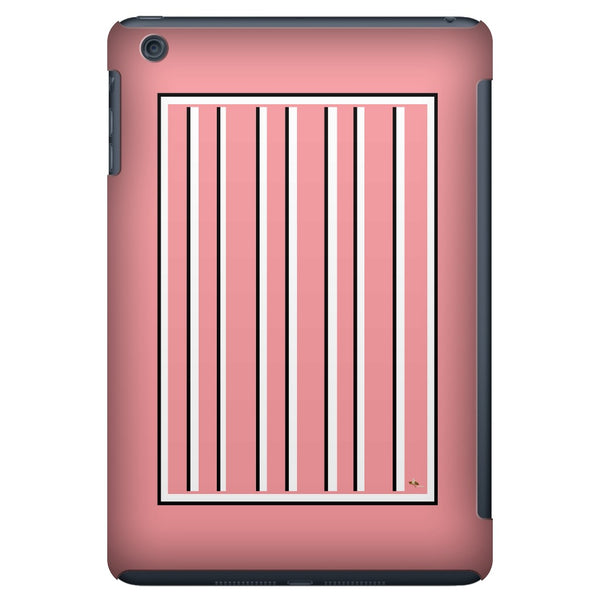 Love Stripes with a Border iPad Mini Tablet Case