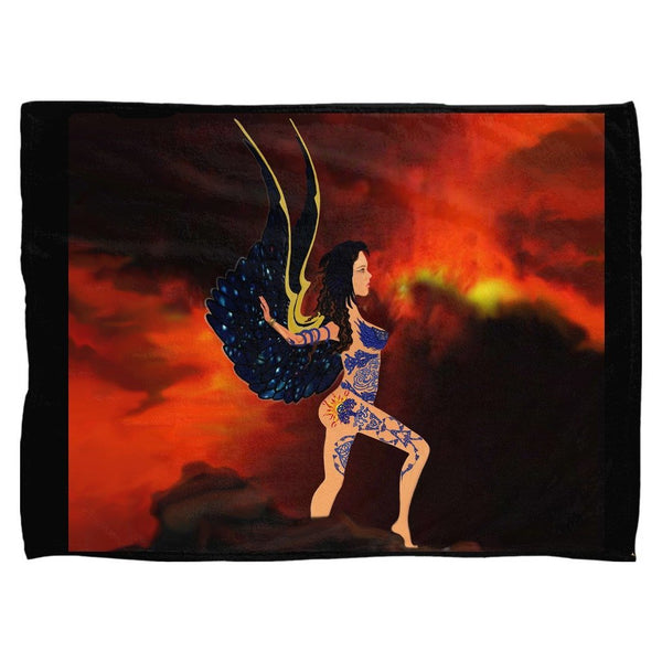 Skin Strong Fleece Blanket (L)
