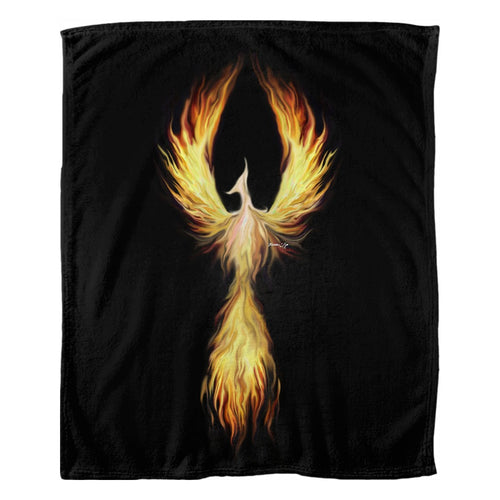 Phoenix Fyr Fleece Blanket
