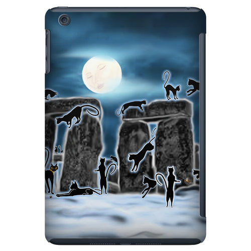 Bast Moon Over Stonehenge iPad Mini Tablet Case