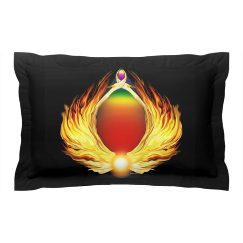 Phoenix Gate Pillow Sham